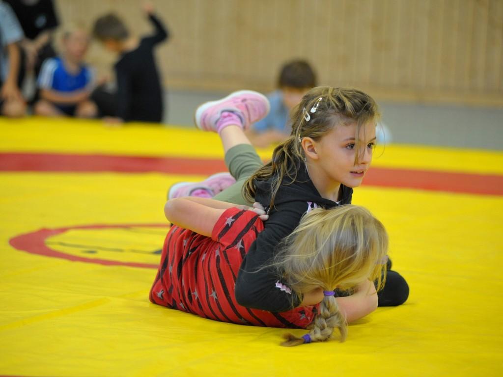 Kampfszene Mädchen
