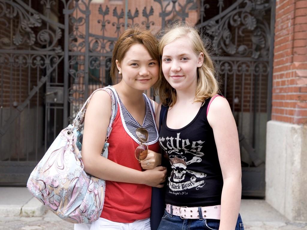 Ngan und Laura