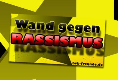 Wand gegen Rassismus – BVB Freunde Deutschland