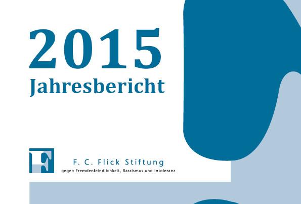 FlickStiftung_Jahresbericht2015_Cover-Web