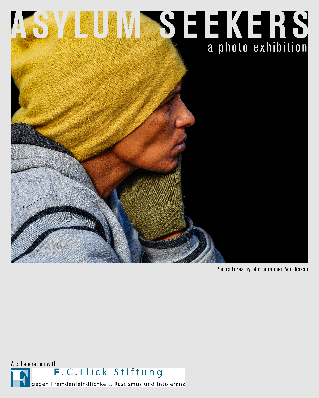 """Fotoausstellung: Adil Razalis """"Asyslum Seekers"""" in den Räumen der F.C. Flick Stiftung"""