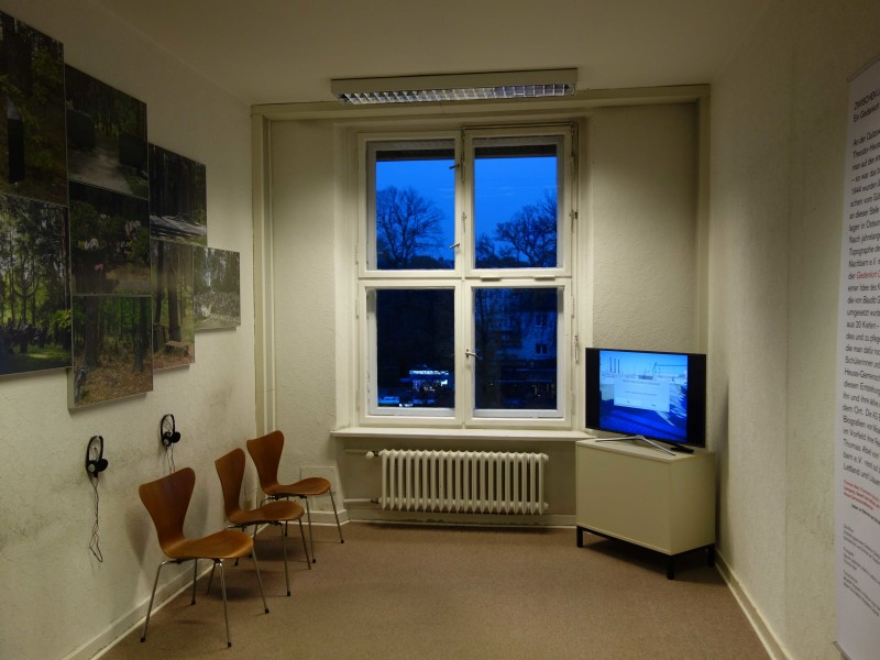 Ausstellung - Gedenkort G++terbahnhof Moabit