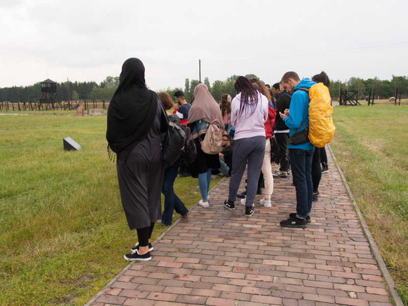 Polenreise - Gedenkst+ñtte Majdanek 3
