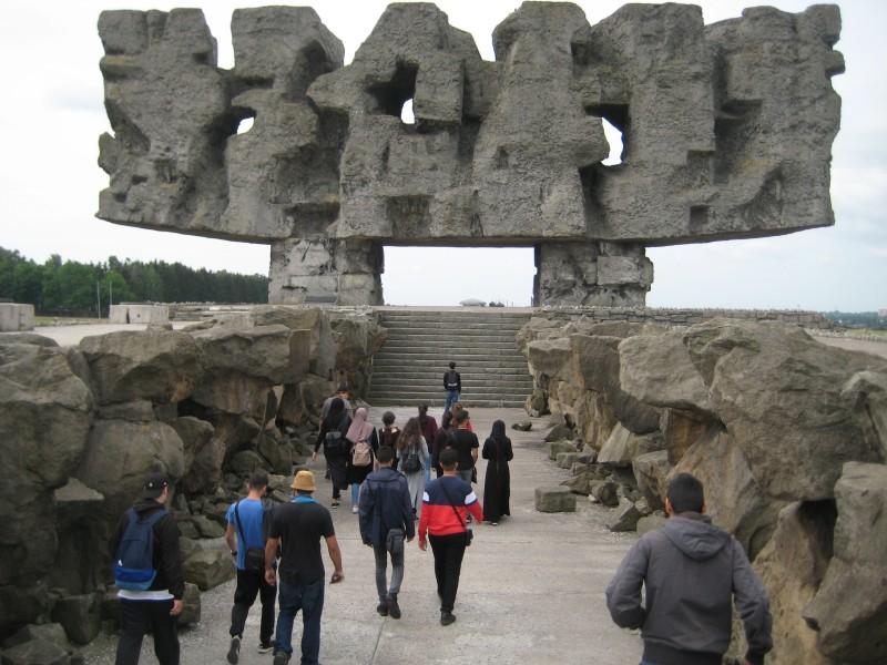 Polenreise - Gedenkst+ñtte Majdanek