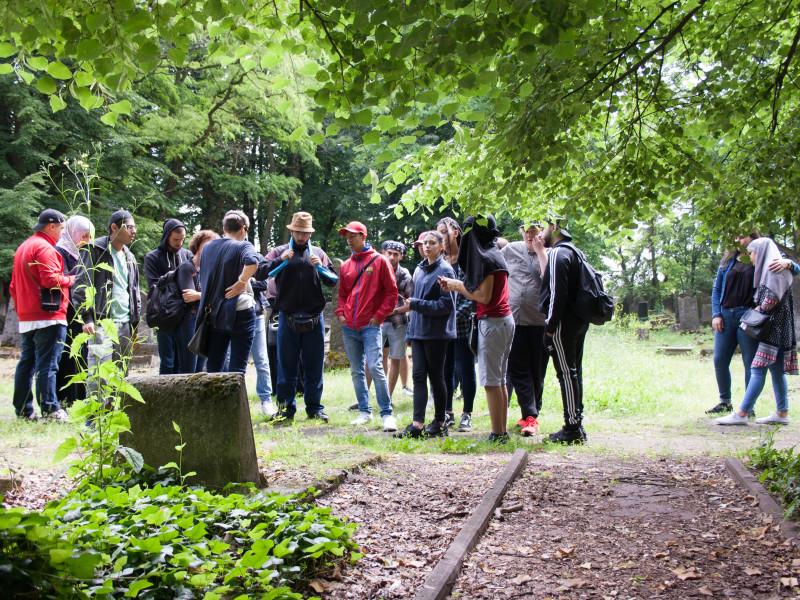 Polenreise - j++discher Friedhof - Lodz