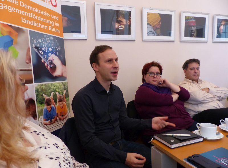 Landesarbeitsgemeinschaft der Freiwilligenagenturen Sachsen-Anhalt tagt in Stiftungsräumen