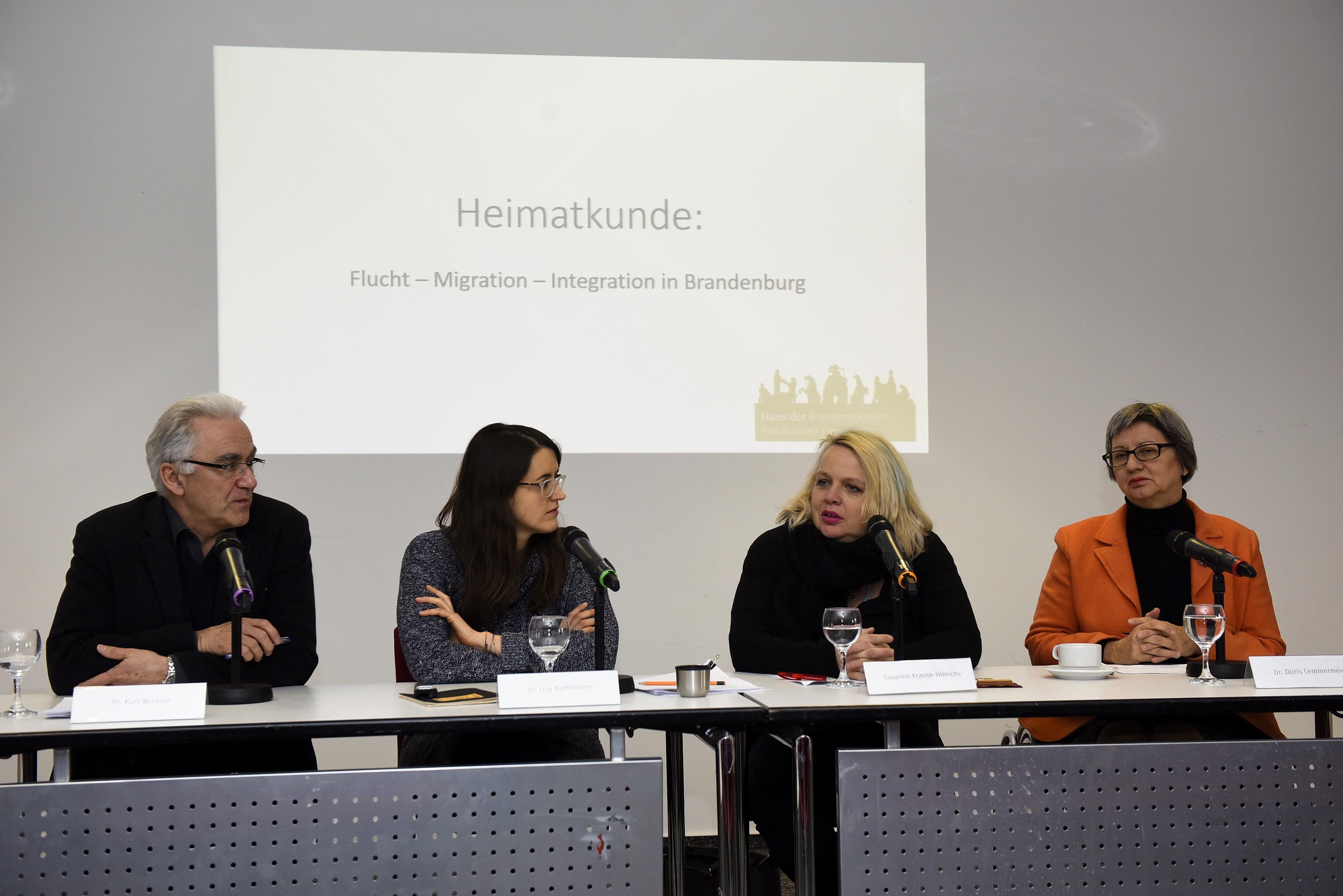 Pressekonferenz zur digitalen Ausstellung Heimatkunde: Flucht – Migration – Integration in Brandenburg