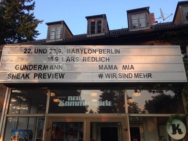 Neue Kammerspiele Kleinmachnow rufen auf zum Trailerdreh