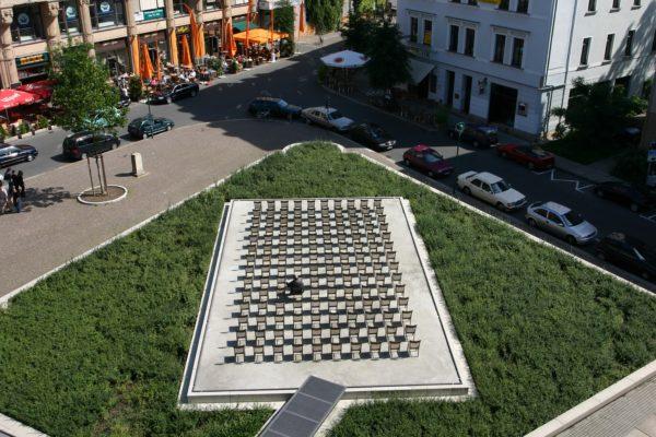Denkmal am Standort ehemalige Gemeindesynagoge┬®silvia hauptmann