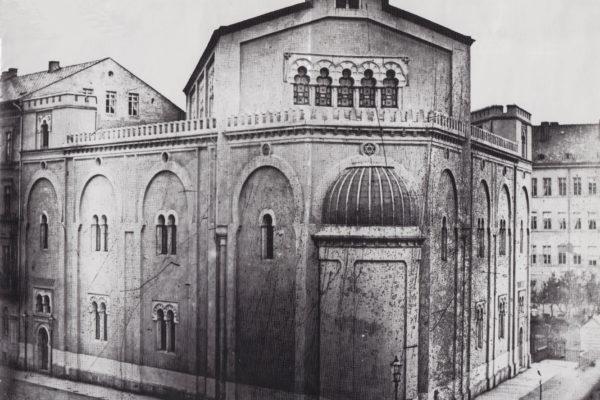 Liberal Gemeindesynagoge Gottschedstr. hist. Aufnahme.┬®stadtgeschtl.Museum Lpz..01