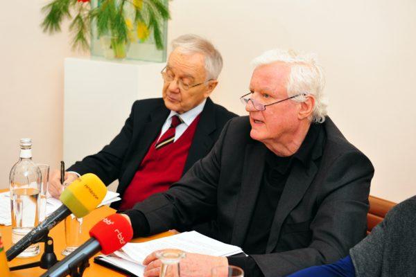 Dr. Manfred Stolpe, Dr. Friedrich Christian Flick © Joachim Liebe