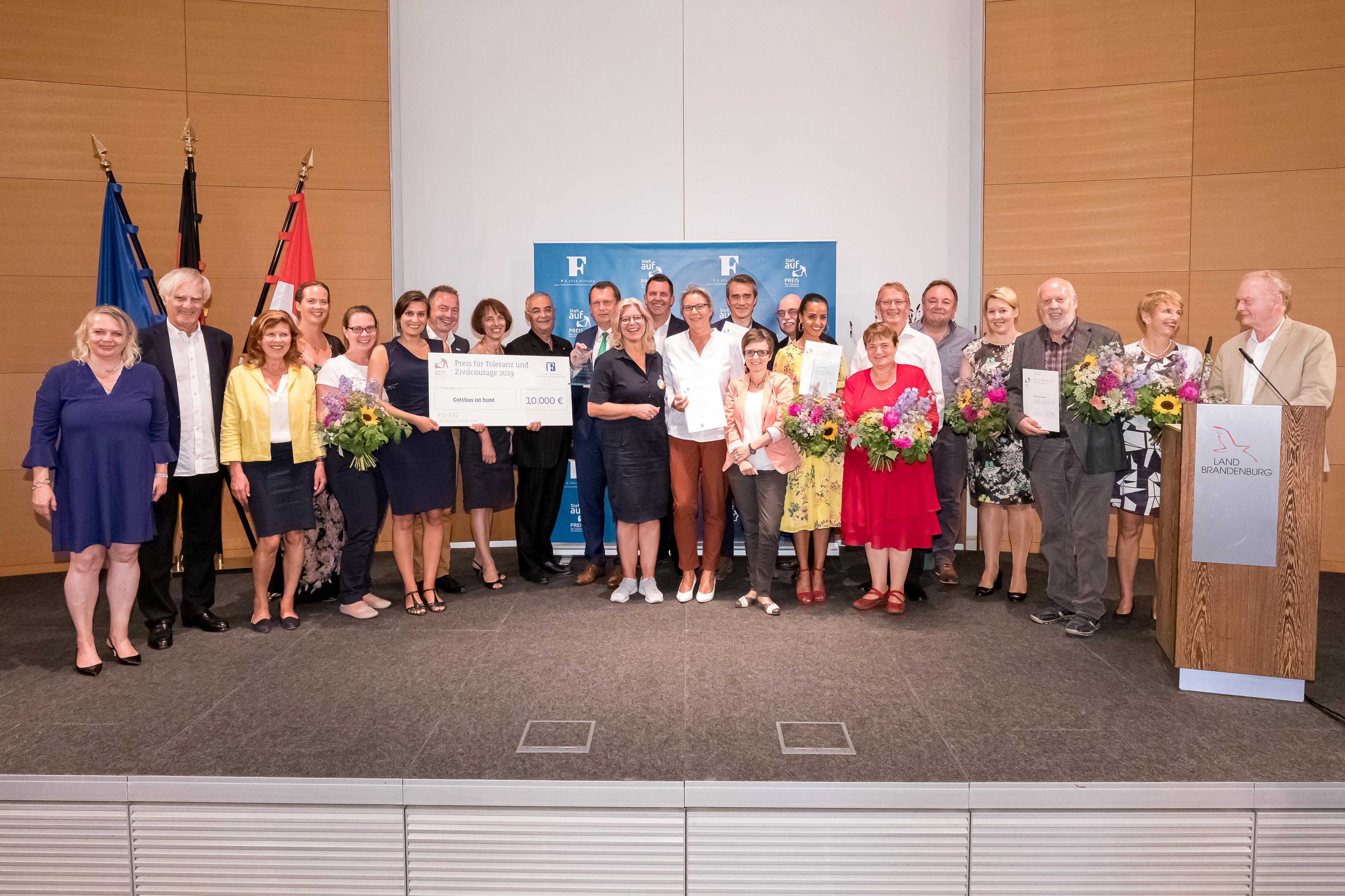 Steh-auf-Preis 2019 geht an Cottbuser Bürgerbündnis