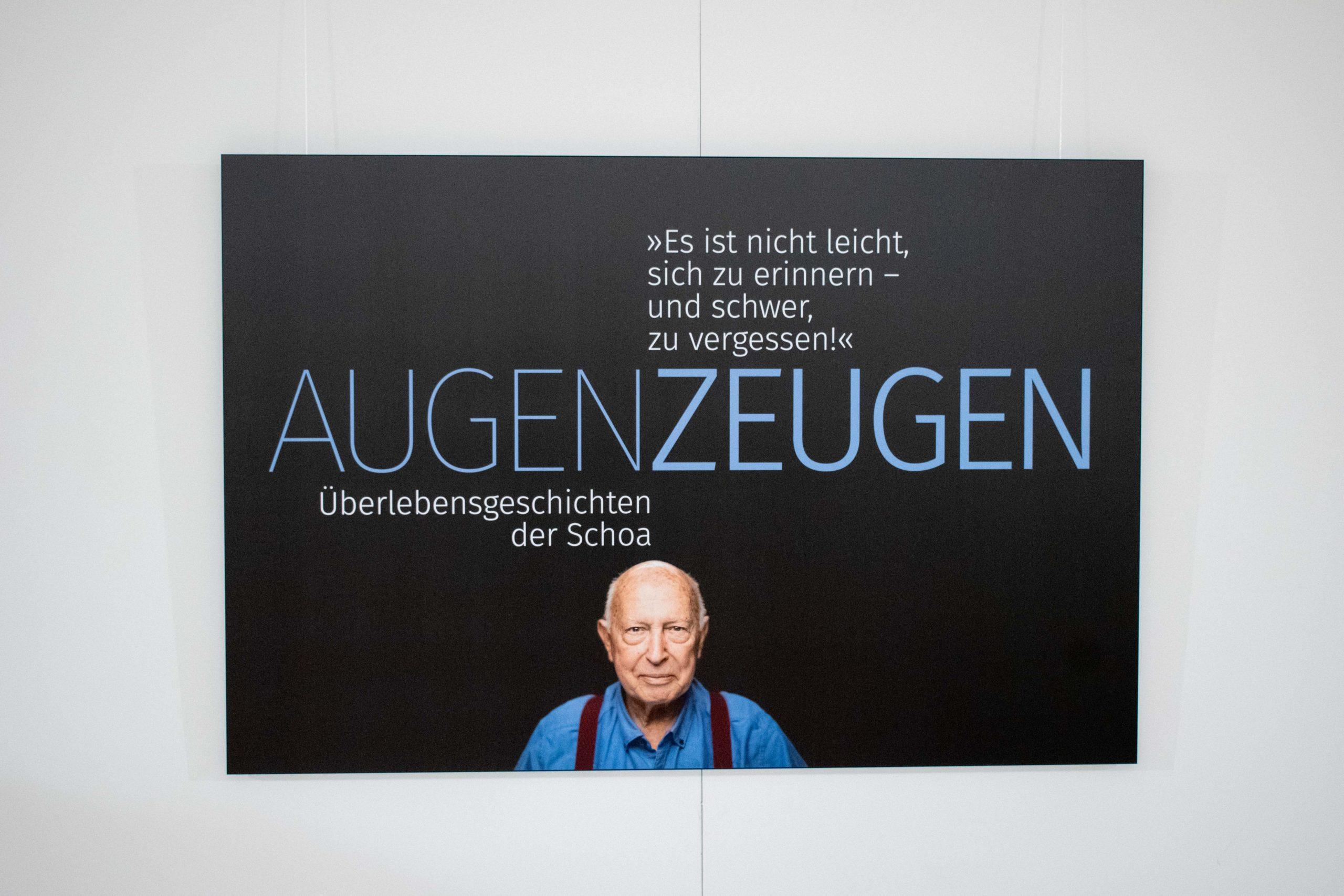 Eröffnung: AugenZeugen – Überlebensgeschichten der Schoa – Eine Fotoausstellung