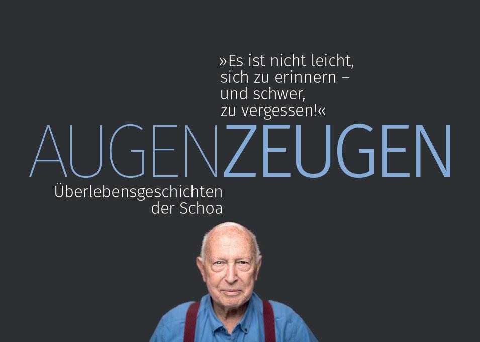 """Eröffnung der Ausstellung """"AugenZeugen – Überlebensgeschichten der Shoa"""" in der Jüdischen Gemeinde zu Berlin"""