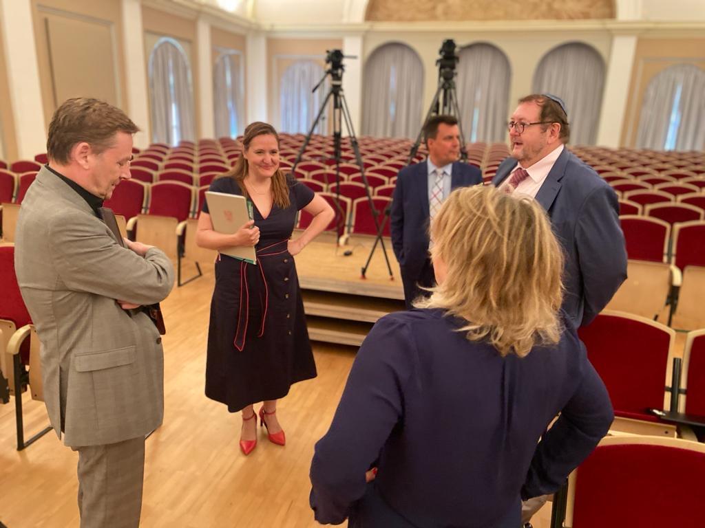 Symposium: Mit der Verfassung gegen Antisemitismus vom 30.06.20
